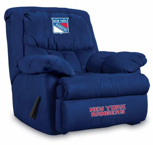 New York Rangers Home Team Recliner