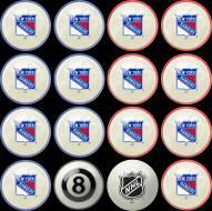 New York Rangers Home vs. Away Pool Ball Set