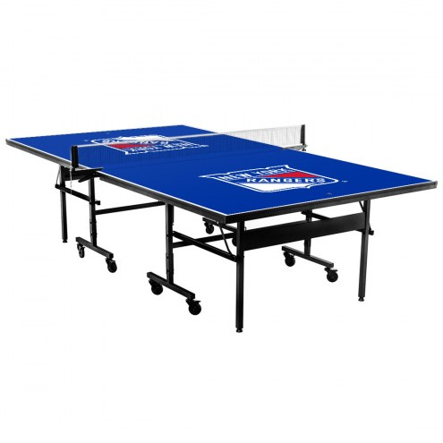 New York Rangers Indoor Ping Pong Table