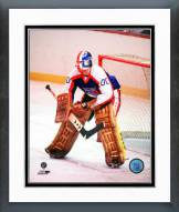 New York Rangers John Davidson Action Framed Photo