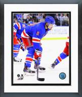 New York Rangers Kevin Klein Action Framed Photo