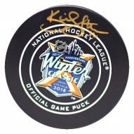 New York Rangers Kevin Shattenkirk Signed 2018 Winter Classic Logo Game Model Puck