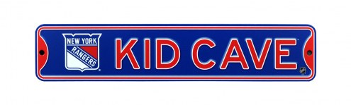 New York Rangers Kid Cave Street Sign