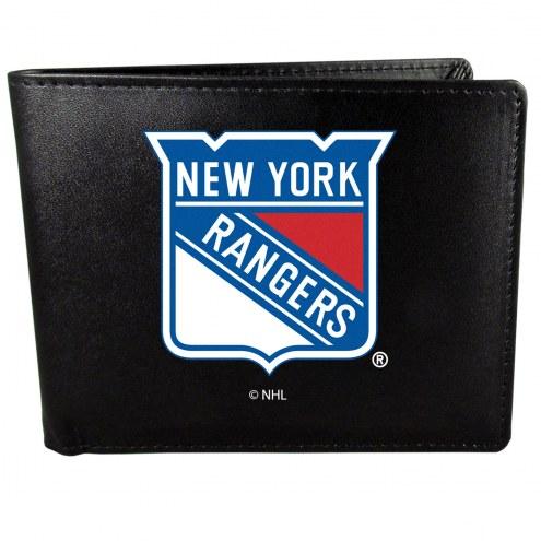 New York Rangers Large Logo Bi-fold Wallet