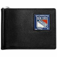New York Rangers Leather Bill Clip Wallet
