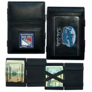 New York Rangers Leather Jacob's Ladder Wallet