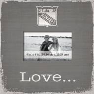 New York Rangers Love Picture Frame