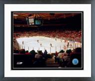 New York Rangers Madison Square Garden Framed Photo
