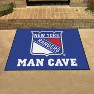New York Rangers Man Cave All-Star Rug
