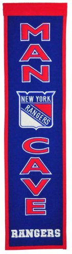 New York Rangers Man Cave Banner