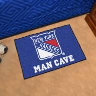 New York Rangers Man Cave Starter Mat