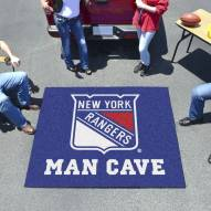 New York Rangers Man Cave Tailgate Mat