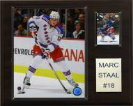 """New York Rangers Marc Staal 12"""" x 15"""" Player Plaque"""