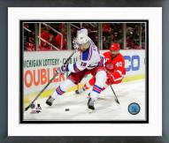 New York Rangers Marc Staal Action Framed Photo