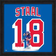 New York Rangers Marc Staal Uniframe Framed Jersey Photo