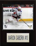 "New York Rangers Marian Gaborik 12"" x 15"" Player Plaque"