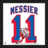 New York Rangers Mark Messier NHL Uniframe Framed Jersey Photo