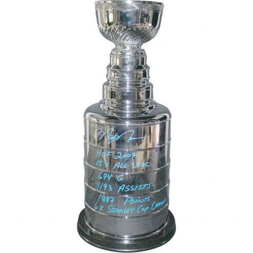 New York Rangers Mark Messier Signed Large Replica Stanley Cup