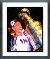 New York Rangers Mark Messier with the 1994 Stanley Cup Framed Photo