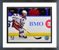 New York Rangers Martin St. Louis Action Framed Photo