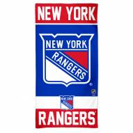 New York Rangers McArthur Beach Towel