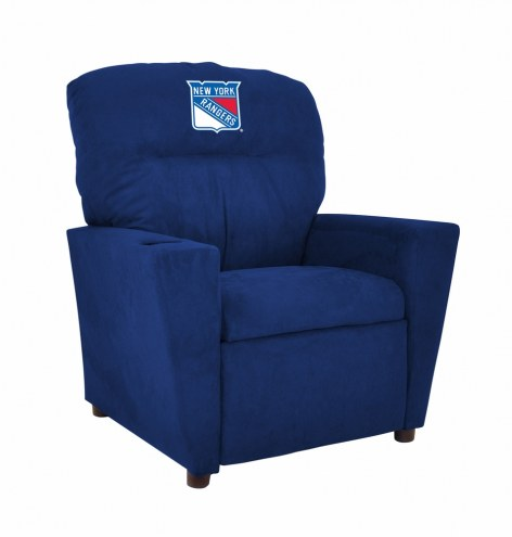 New York Rangers Microfiber Kid's Recliner
