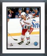 New York Rangers Mike Gartner Action Framed Photo