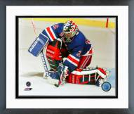New York Rangers Mike Richter Action Framed Photo