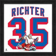 New York Rangers Mike Richter Uniframe Framed Jersey Photo