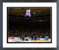 New York Rangers Mike Richter's Jersey Retirement Ceremony Framed Photo