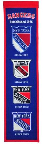 New York Rangers NHL Heritage Banner