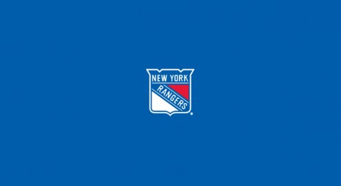 New York Rangers NHL Team Logo Billiard Cloth