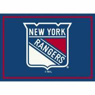 New York Rangers NHL Team Spirit Area Rug
