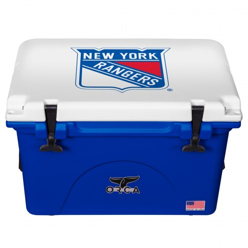New York Rangers ORCA 40 Quart Cooler