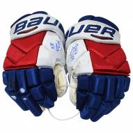 """New York Rangers Pavel Buchnevich Signed 2017/2018 Game Used Gloves w/ """"17/18 Game Used"""""""