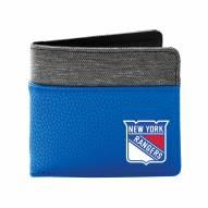 New York Rangers Pebble Bi-Fold Wallet