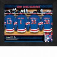 New York Rangers Personalized 11 x 14 Framed Photograph