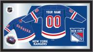 New York Rangers Personalized Jersey Mirror