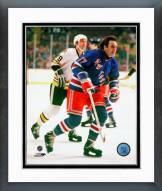 New York Rangers Phil Esposito Action Framed Photo