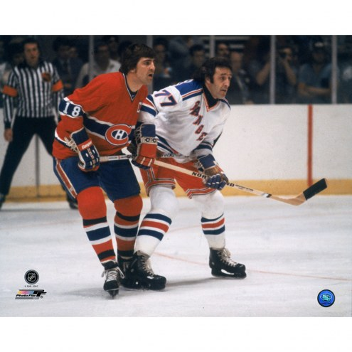 "New York Rangers Phil Esposito Against Savard 16"" x 20"" Photo"