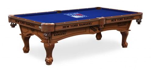 New York Rangers Pool Table
