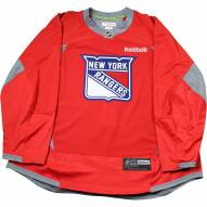 New York Rangers Red Issued Shield Practice Jersey (Size 52)