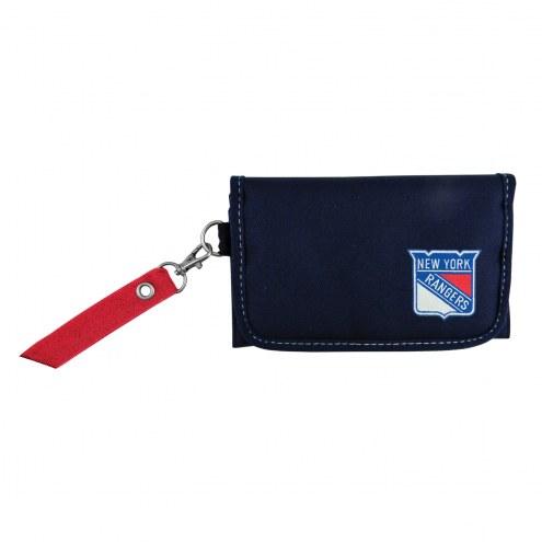 New York Rangers Ribbon Organizer Wallet