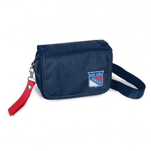 New York Rangers Ribbon Waist Pack Purse