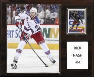 "New York Rangers Rick Nash 12"" x 15"" Player Plaque"