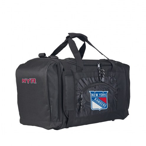 New York Rangers Roadblock Duffle Bag