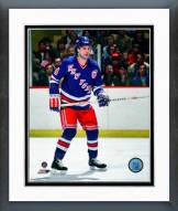 New York Rangers Ron Greschner Action Framed Photo