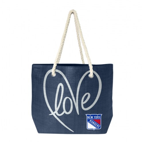 New York Rangers Rope Tote