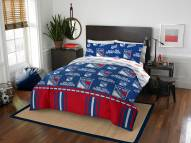 New York Rangers Rotary Queen Bed in a Bag Set
