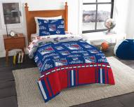 New York Rangers Rotary Twin Bed in a Bag Set